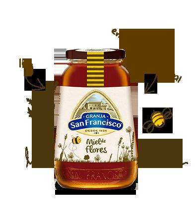 Miel de Flores <br>de 1 kg