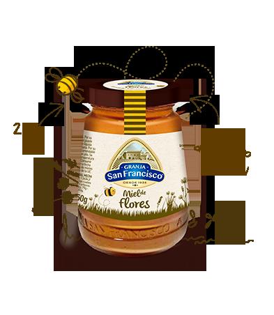 Miel de Flores <br>de 250 gr